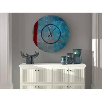 Orren Ellis Oversized Shamsh Wall Clock Wayfair