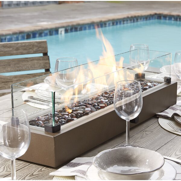 Signature Design by Ashley Hatchlands Propane Tabletop Fireplace ...