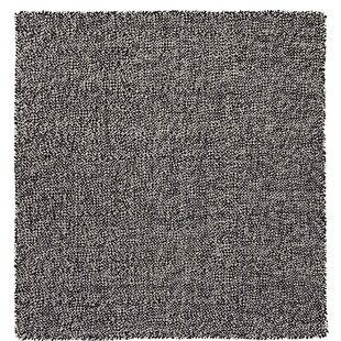Space Waan Hand Woven Wool Black/White Area Rug By GAN RUGS