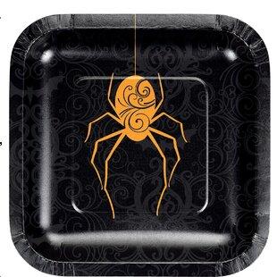 Emmanuelle Spider Paper Appetizer Plate (Set of 24)