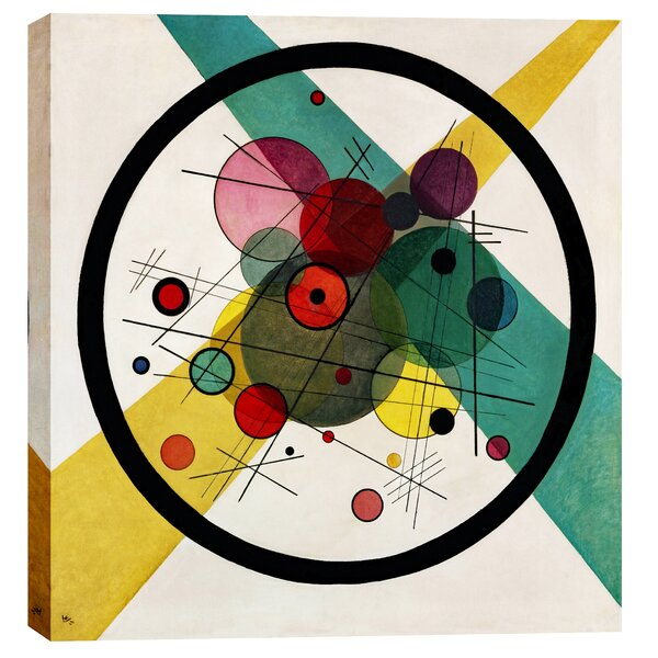 Epic Graffiti Quot Circles In A Circle Quot By Wassily Kandinsky