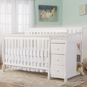 Brody 5-in-1 Convertible Crib and Changer Combo