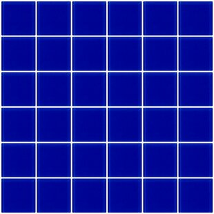 Cobalt Blue Tile Wayfair - Cobalt blue ceramic tile 4x4