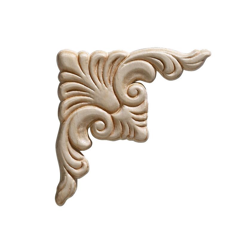 Ornamental Mouldings Birch Acanthus 3 75 H X 3 75 W X 0 22 D Onlay Scroll Reviews Wayfair