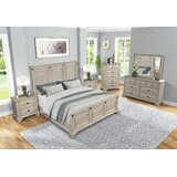 Quebec Solid Wood Standard 6 Piece Bedroom Set by Alcott Hill