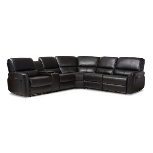 Polett Power Reclining Sectional with USB Ports Latitude Run