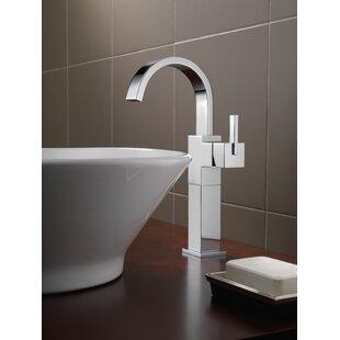 Price comparison Vero Single hole Bathroom Faucet and Diamond Seal Technology ByDelta