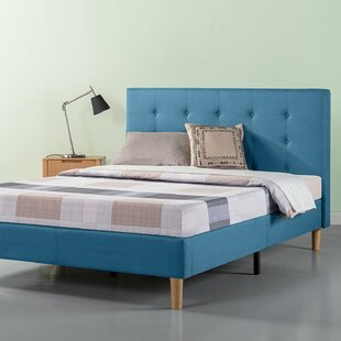 Atkison Upholstered Platform Bed by Wrought Studio