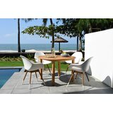 Ludgershall Outdoor 5 Piece Teak Dining Set