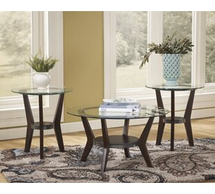 Curtis 3 Piece Coffee Table Set : side table and coffee table set - pezcame.com