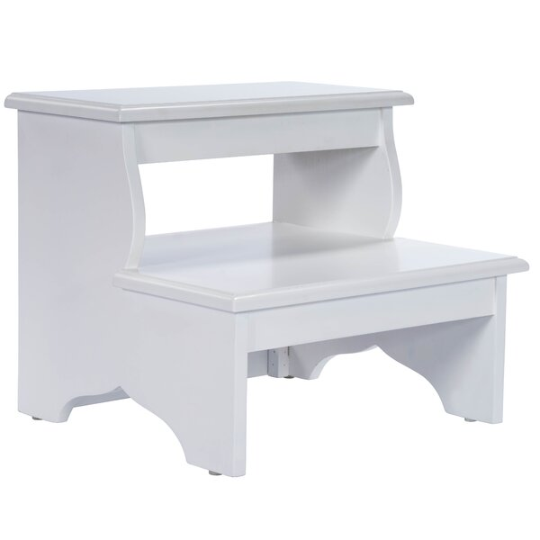 Fine Small White Wooden Step Stool Wayfair Ocoug Best Dining Table And Chair Ideas Images Ocougorg