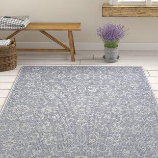 Find for Kraatz Vines Dark Gray/Ivory Indoor/Outdoor Area Rug By Ophelia & Co.
