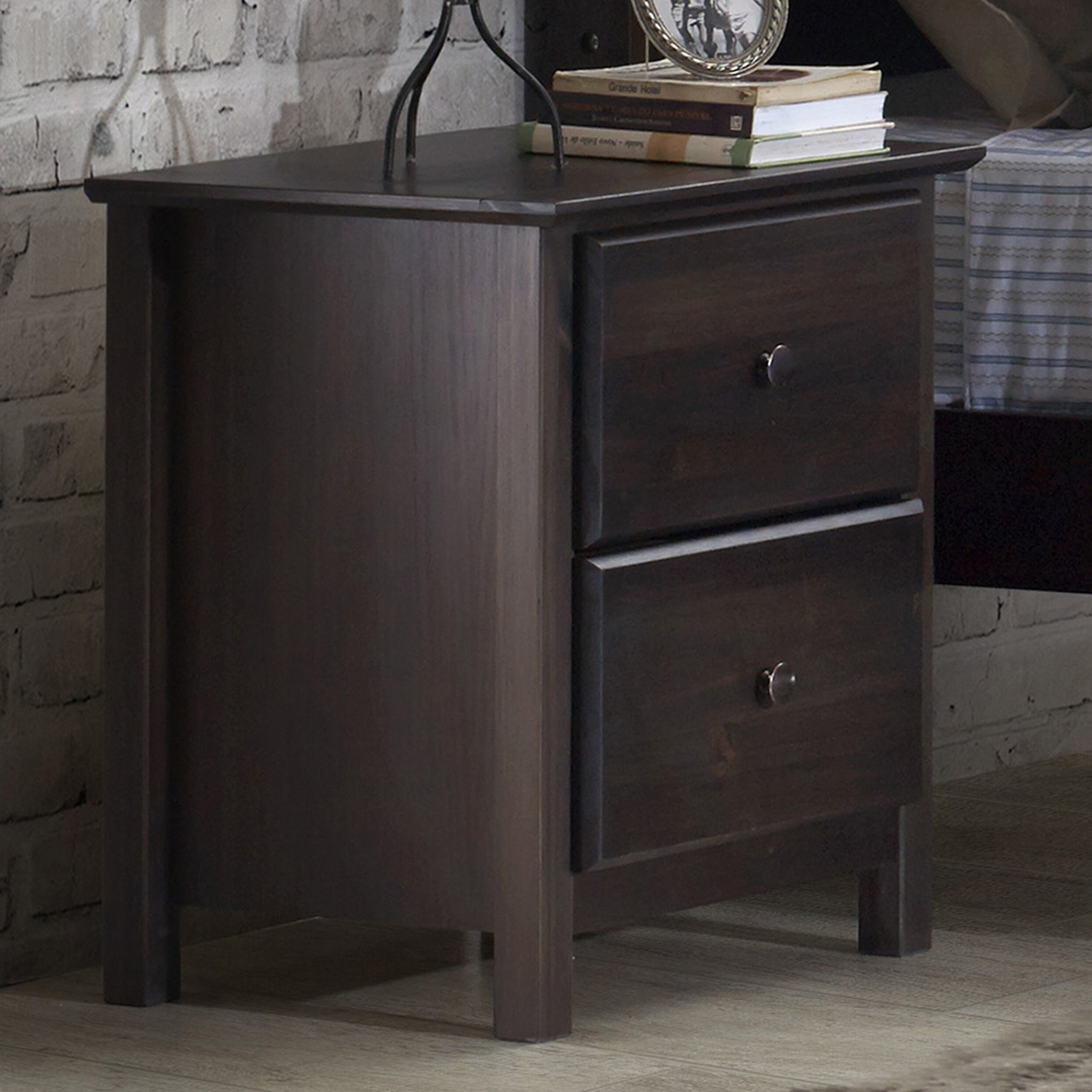 Grantley 2 Drawer Nightstand Reviews Joss Main