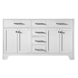 Cassel 60 Double Bathroom Vanity Base Only by Highland Dunes