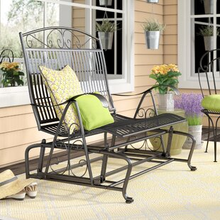 Nocona Iron Double Patio Glider Bench