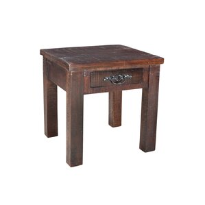 Cummings End Table by Loon Peak