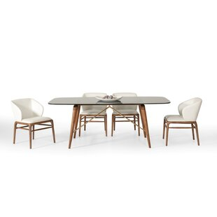 Pierre 5 Piece Dining Set Corrigan Studio