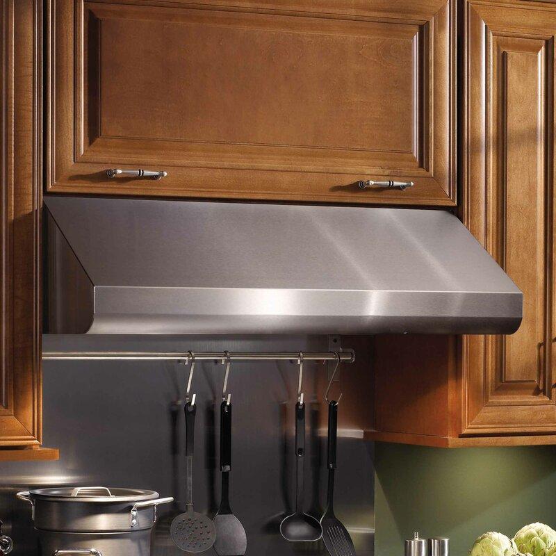 30  600 CFM Ducted Under Cabinet Range Hood & Broan 30