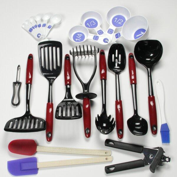 Chef Craft Measuring Spoons Top Rack Dishwasher Safe Kitchen Utensils White
