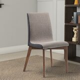 Alejandro Armless Upholstered Dining Chair (Set of 2) by George Oliver
