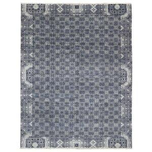 Sascha Hand Woven Wool Gray/Beige Area Rug