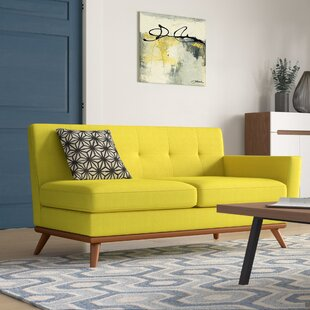 Online Reviews Johnston Loveseat by Langley Street Reviews (2019) & Buyer's Guide