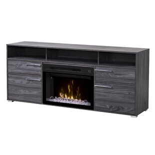 Sander 66 inch  TV Stand with Fireplace