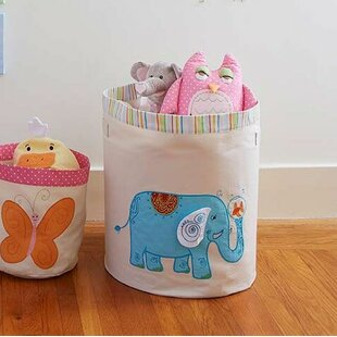 Read Reviews Funny Friends Elephant Toy Storage Bin ByThe Little Acorn