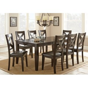 York 7 Piece Extendable Solid Wood Dining Configurable Set by Alcott Hill 2019 Salet