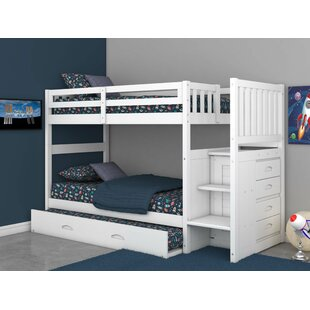 Find a Herculaneum Twin over Twin Bunk Bed with Trundle by Harriet Bee Reviews (2019) & Buyer's Guide