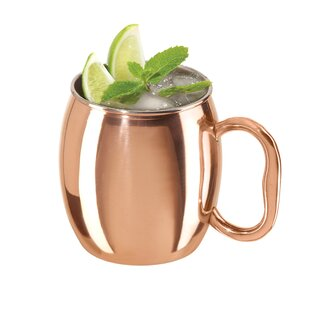 Moyle Smooth Stainless Steel Mule Mug