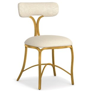 Swanson Upholstered Metal Side Chair by Cynthia Rowley