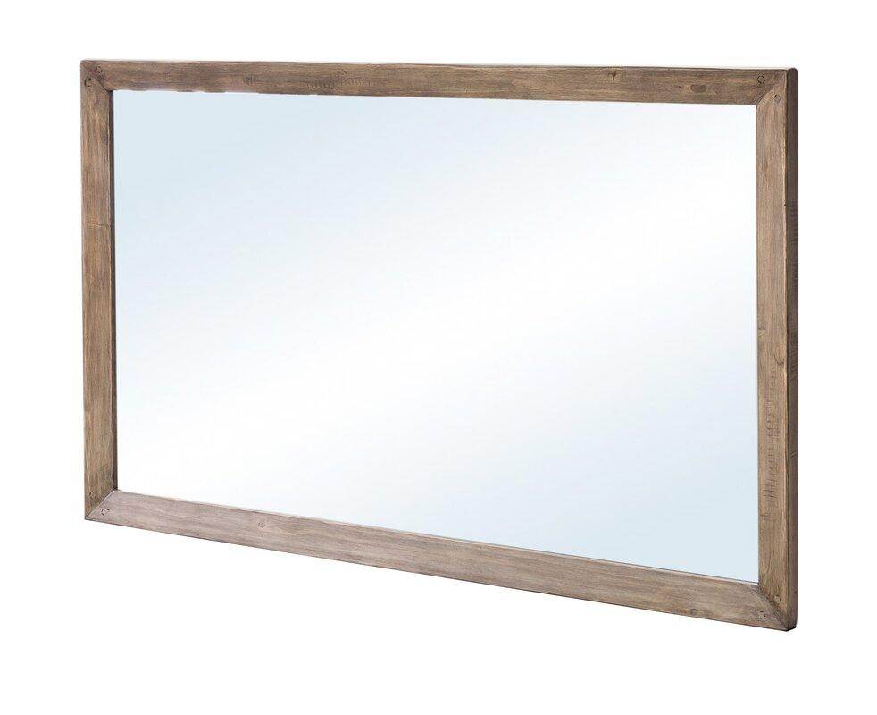Glenna Wood Framed Wall Mirror