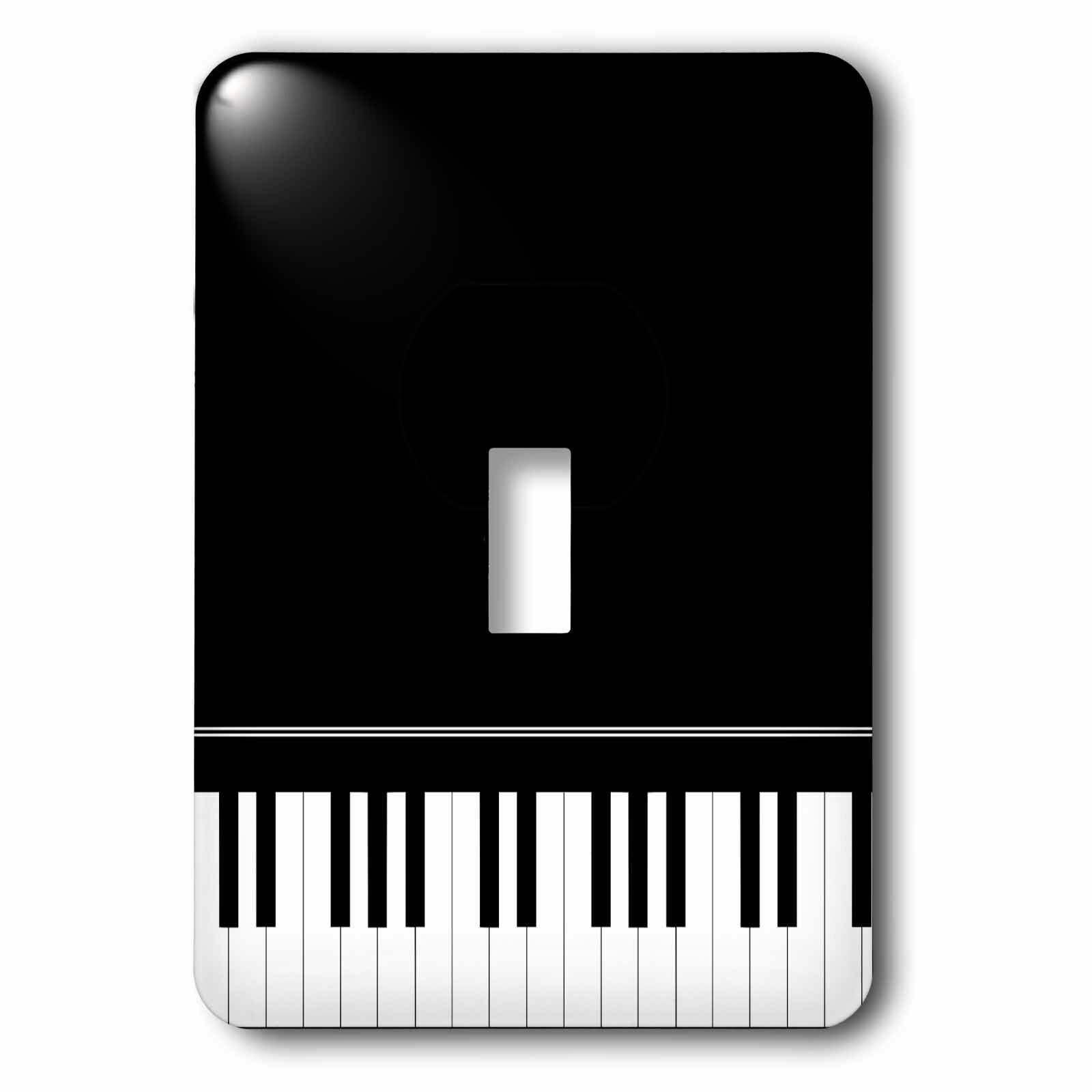 3drose Piano Keyboard Music Design 1 Gang Toggle Light Switch Wall Plate Wayfair