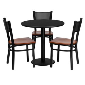 Deepraj 4 Piece Dining Set by Red Barrel Studio