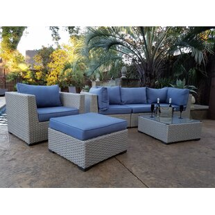 Chalmers 6 Piece Sectional Set with Cushions by Latitude Run