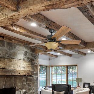 Best Price 52 Uecker 5 Blade Ceiling Fan By Millwood Pines