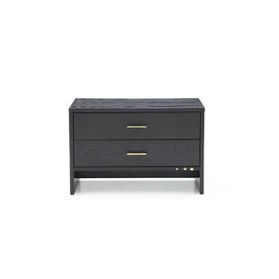 Manan 2 Drawer Nightstand