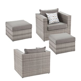 Bennett 4 Piece Conversation Set with Cushions