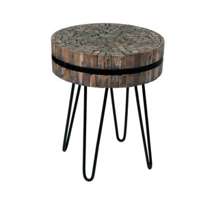 Great Price Lueras End Table by Union Rustic