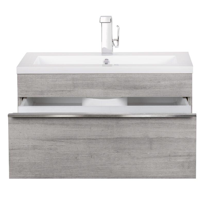 Peachy Trough 30 Wall Mounted Single Bathroom Vanity Set Download Free Architecture Designs Scobabritishbridgeorg