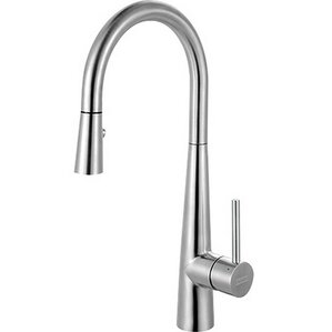 Franke Single Handle Deck Mounted Kitchen Faucet with Pull Out Spray