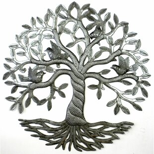 Twisted Tree Of Life Metal Wall Décor