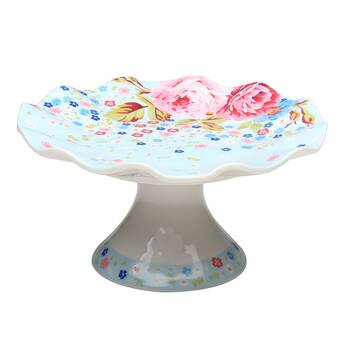 Matashicrystal Crystal 3 Sectional Compote Centerpiece Cake Stand Wayfair