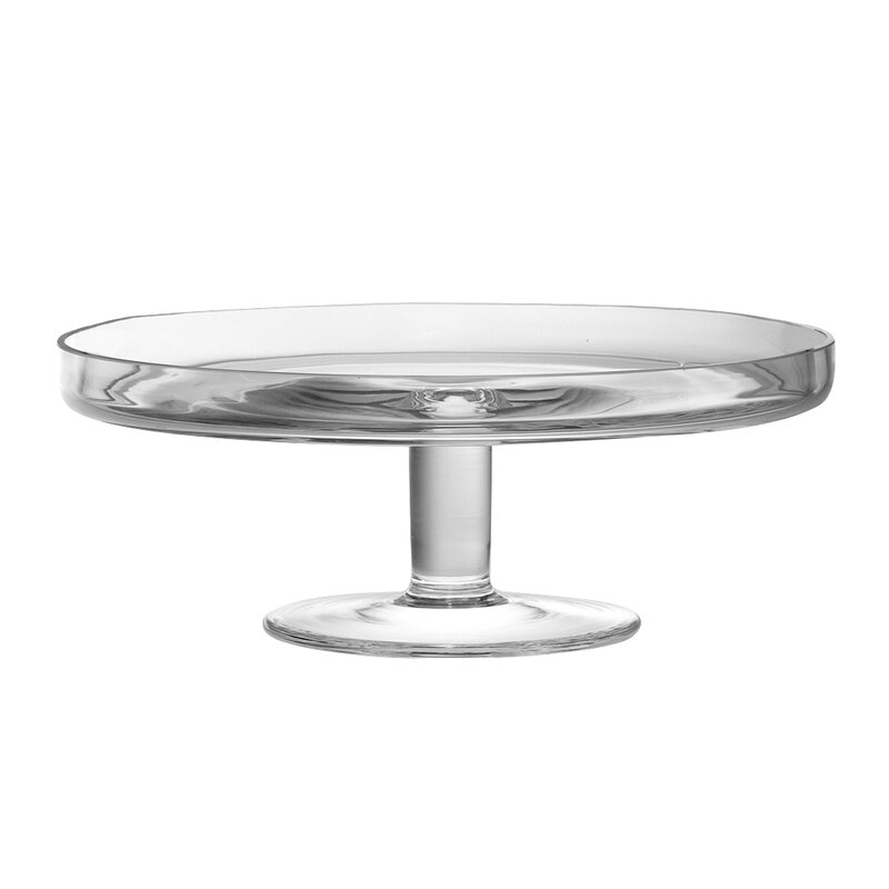 Classic Clear Cake Stand