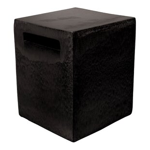 Davenport Davenport Square Cube Ceramic Side Table