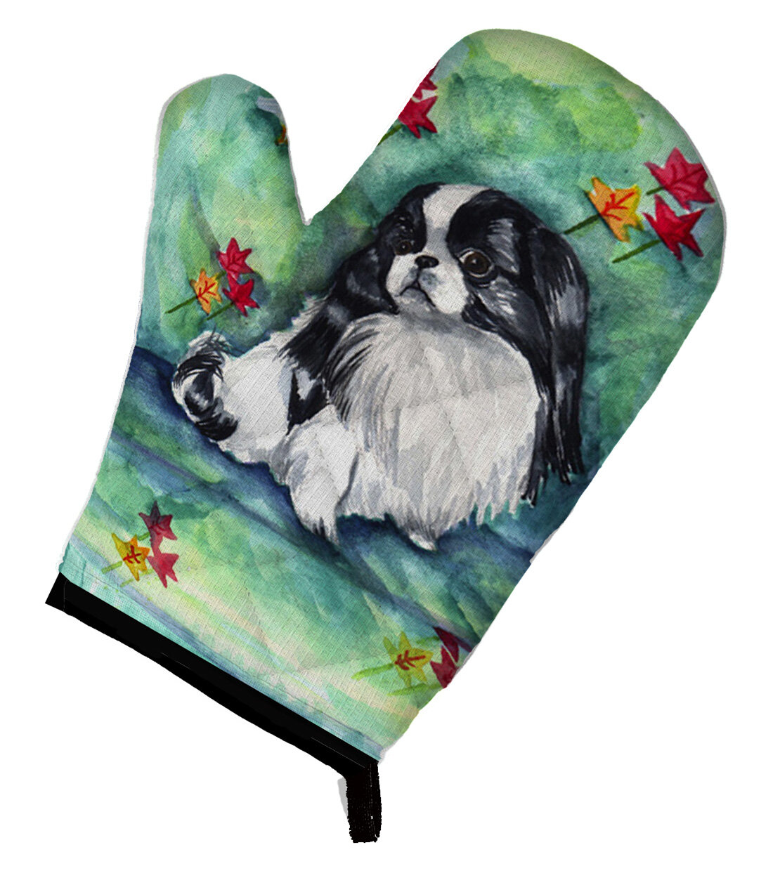 East Urban Home Japanese Chin In Momma S Chair Oven Mitt Wayfair