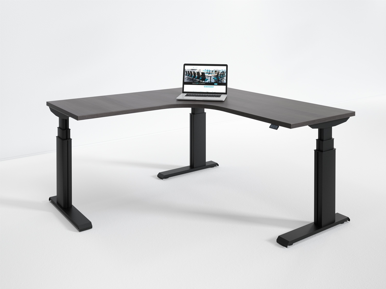 Red Barrel Studio Wildermuth Electric Height Adjustable Standing Desk Wayfair