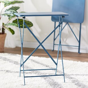Best Reviews Yessenia Cafe Tray Table (Set of 2) By Ebern Designs
