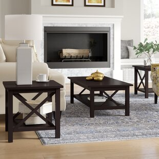 Boutwell 3 Piece Coffee Table Set by Alcott Hill Great price